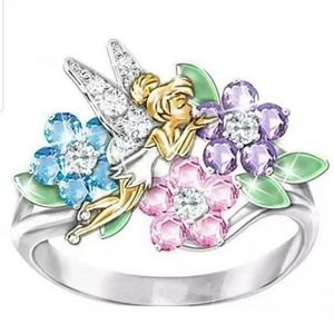 Beautiful Tinkerbell 925S Ring
